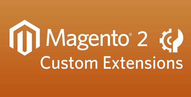 magento 2 custom extensions